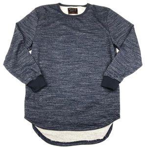 Galaxy by Harvic Blue Pullover Sweatshirt